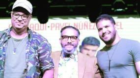 Mariano Lantigua, Pavel Núñez yPamel   Mancebo.  fuente externa