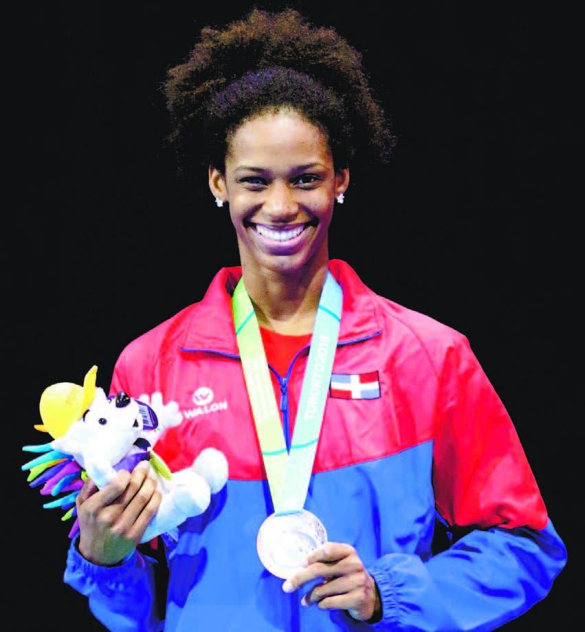 Violeta Ramírez Peguero obtuvo bronce en espada individual de esgrima
