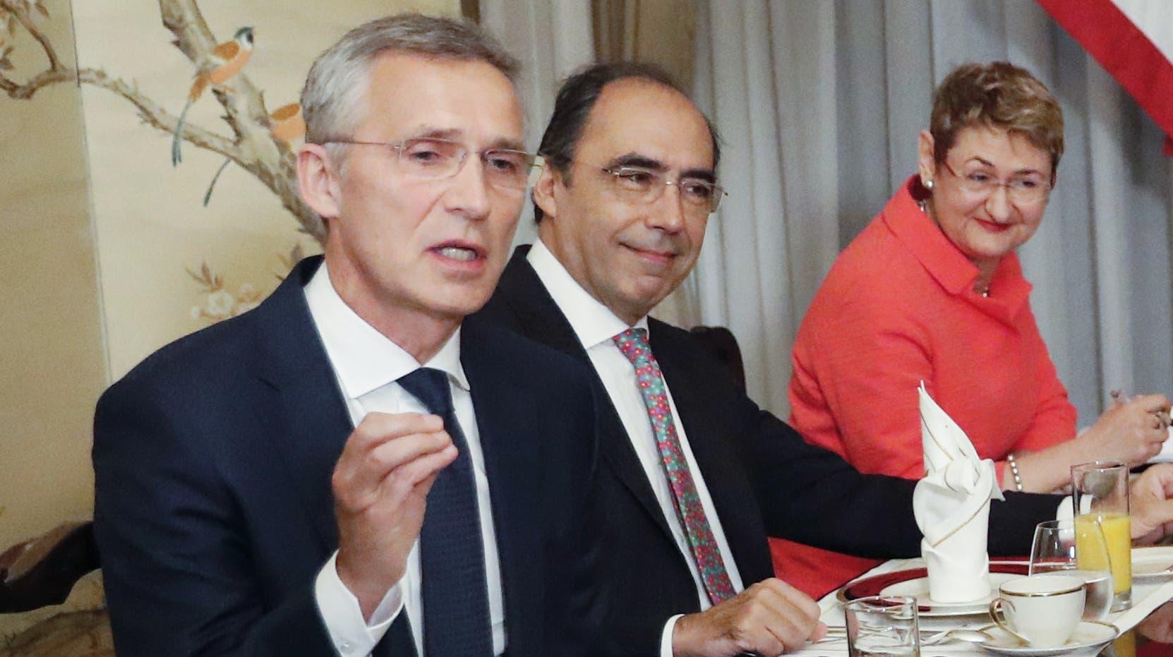 """El secretario general de la OTAN  planteó en la cumbre que """"la prevención es mejor que la intervención"""".  AP"""