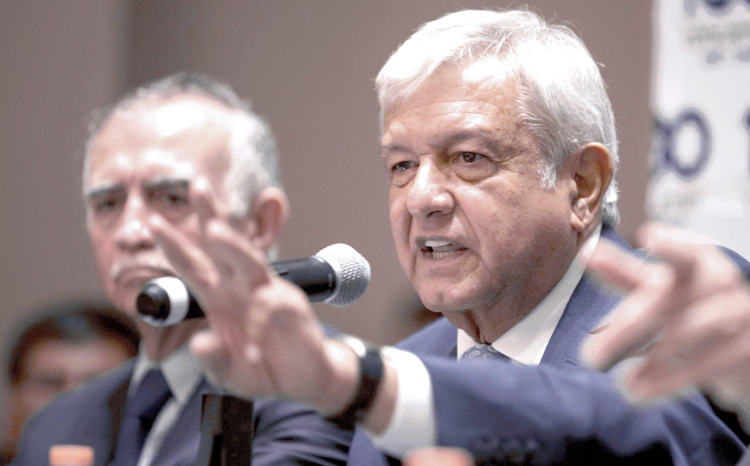 Andrés Manuel López Obrador .