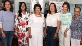 Rosanna Rivera, Delores Sánchez, Verónica Sención, Lidia Martínez, Lucia Amelia Cabral y Rosa Francia Esquea.
