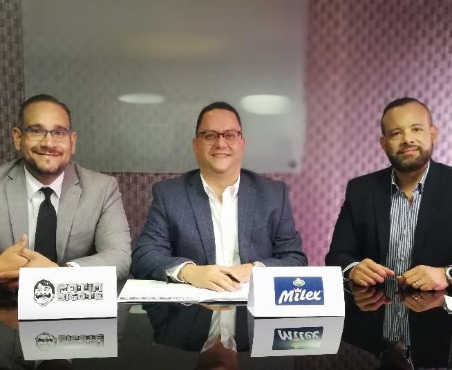 Luis Molina, Guido Gil y Randolph Luna.