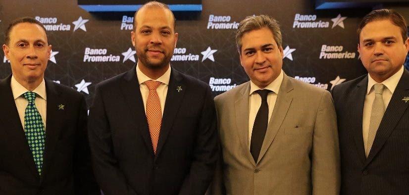 El Banco Promerica presenta en un coctel al nuevo presidente ejecutivo