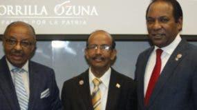 Marcos Charles, Reymundo Tirado y Jorge Zorrilla Ozuna.