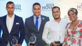 Pedro Fortuna, Kevin Polanco, Manuel Rodríguez y Yahaira Batista.