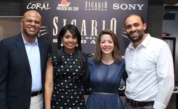 Gabriel Ordaz, Natasha Rodríguez, Dafne Guzmán y Hugo Pagán.