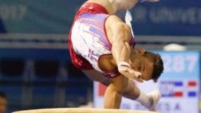 Audrys Nin Reyes, una de las principales esperanzas de medalla del país, es el abanderado dominicano.   Fuente externa.