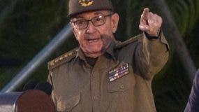 Raúl Castro se solidarizó con Venezuela y Nicaragua.