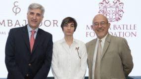 Ventura Serra, María Batlle y Michel Lo Monaco.