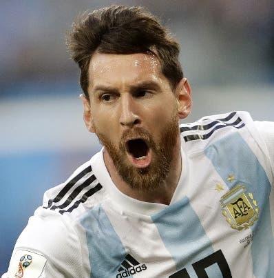 Lionel Messi y Argentina han sido  grandes decepciones.  AP
