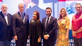 Enrique Cambier, Alejandro Legrottagle, Dicla López, Oscar Rosa, Ana Cabello y Alberto Ávila.