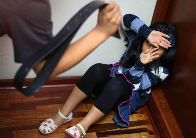 El castigo corporal es  de las formas más comunes de violencia.