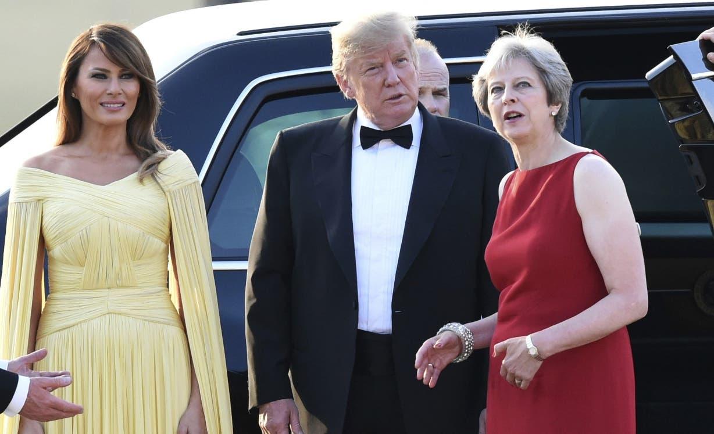 ÚLTIMA HORA: Decenas de miles marchan en Londres contra Trump