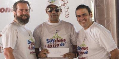 Sergio Arriz, Carmelo Zorrilla y Carlos Santana.