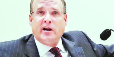 Marshall Billingslea llevó la agenda de la reunión.  AP