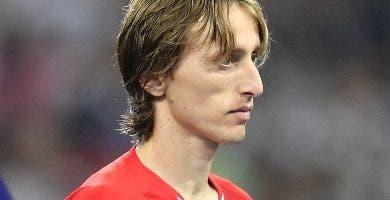 Luka Modric fue elegido mejor jugador del Mundial.  A P