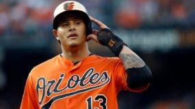 El dominicano Manny Machado está en el mercado de cambio por los Orioles de Baltimore.  ap
