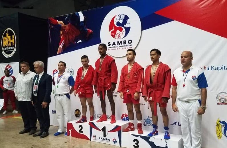 RD es campeón en Panamericano Sambo en México