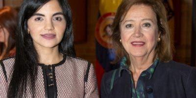 Berlinesa Franco y María Cristina Trujillo.