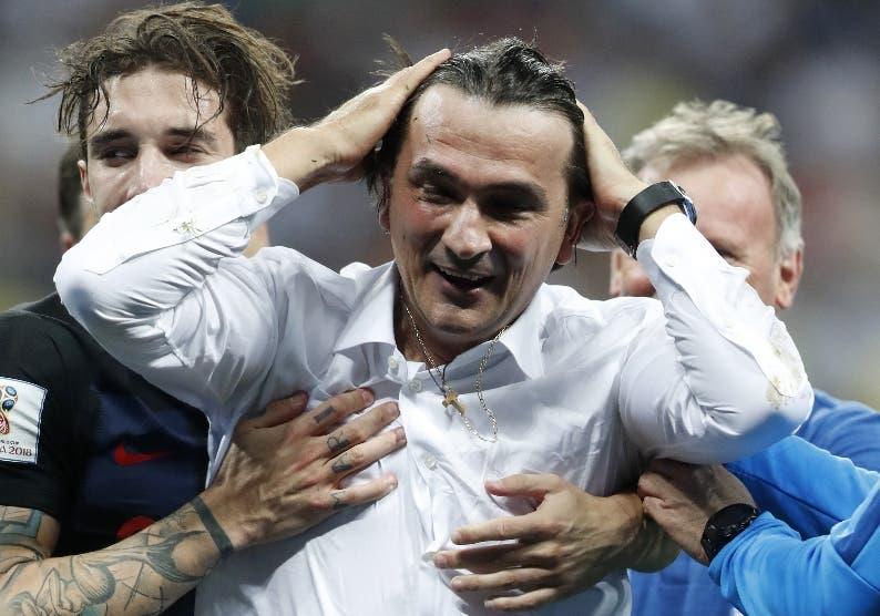 El técnico Zlatko Dalic  confía en la calidad de su equipo.aP