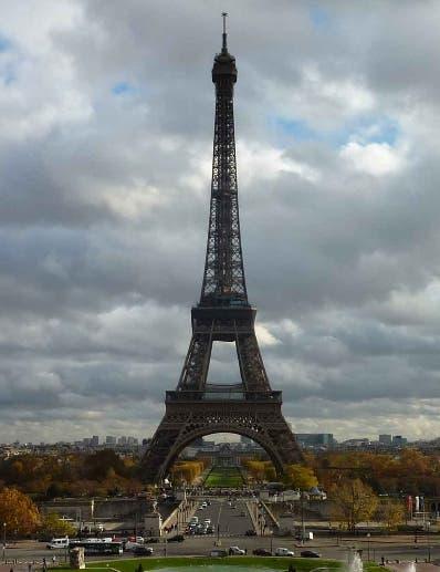 La Torre Eiffel será cerrada por seguridad en la final.aP