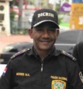 Moisés Montero Amador, mayor de la Policía.
