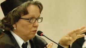 Miriam Germán ha pedido que SCJ enfrente las críticas lanzadas por Ministerio Público.  archivo