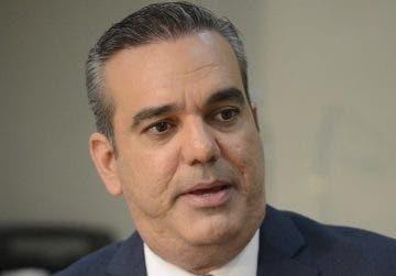 Luis Abinader, aspirante a la presidencia del país.