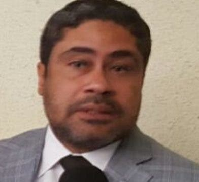 Joaquín Zapata, abogado de Conrado Pittaluga. archivo