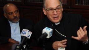 Los representantes de la Iglesia católica  ratifican  su oposición al aborto.  nicolás monegro
