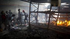 Los disturbios en Haití explotaron por un aumento de los combustibles en más del 40%.