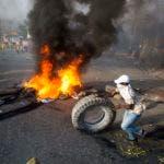 Haiti Fuel Protest