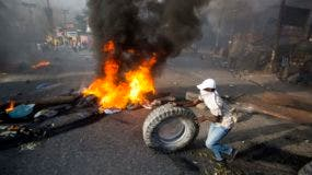 Haiti Fuel Protest