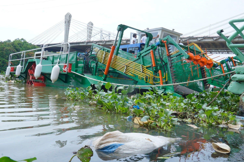 El objetivo es ayudar a descontaminar los ríos Ozama e Isabela. Foto: Elieser Tapia/El Día.
