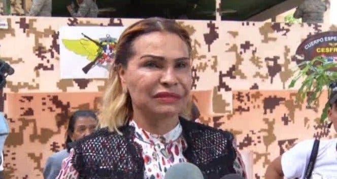 Senadora Sonia Mateo.