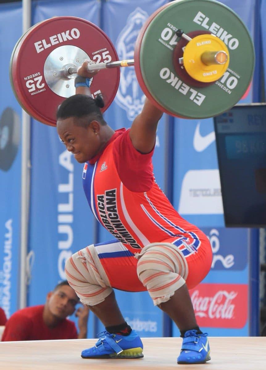 Yineisy Reyes se queda con el bronce en envión 98kg en Juegos Centroamericanos