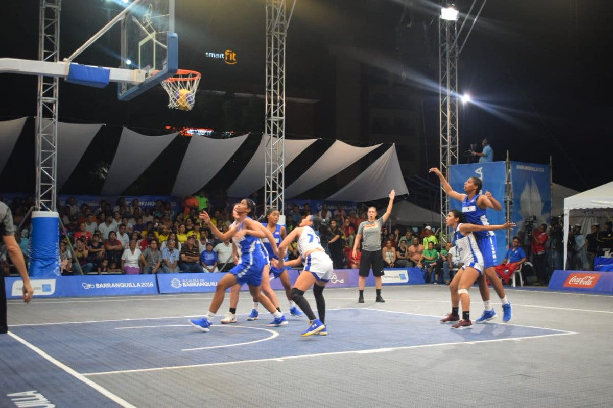 Equipo basket femenino 3×3 gana bronce para RD en Juegos Centroamericanos