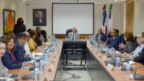 Reunión del Consejo Nacional de Seguridad Social.