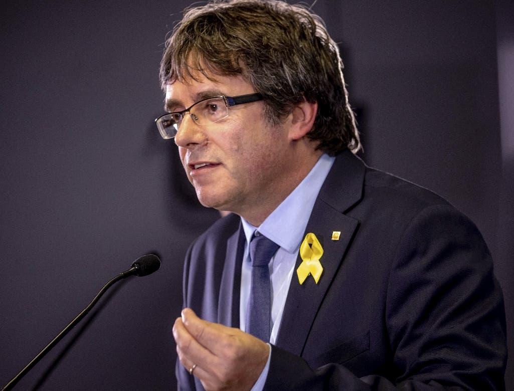 Carles Puigdemont. AP
