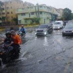 Las lluvias por la onda tropical Beryl ocasionaron daños en el Distrito Nacional. Foto: Elieser Tapia.