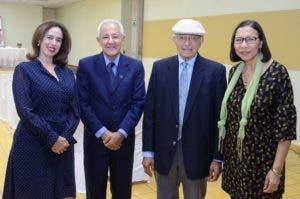 María José Rincón. Rafael Chaljub, Manuel Matos Moquete y ElsaAlcántara.