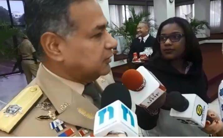 Teniente general Rubén Darío Paulino Sem, ministro de Defensa, asegura la frontera dominico-haitiana está en calma.