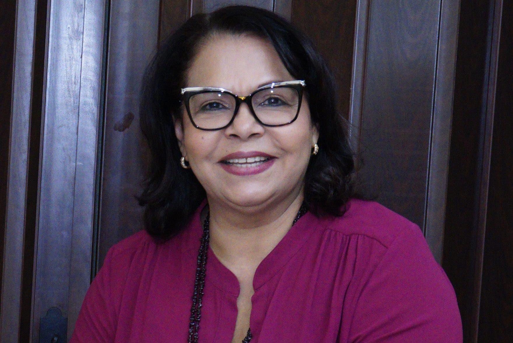 Emma Polanco, rectora de la UASD.  archivo