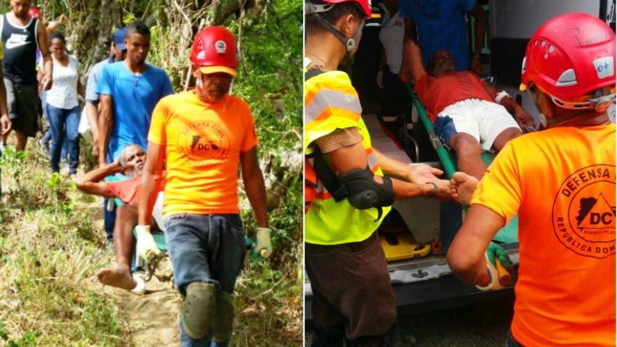 socorristas-encuentran-en-una-zona-boscosa-en-puerto-plata-a-hombre-con-alzheimer-que-estaba-desaparecido