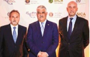 Franklin León, Miguel Vargas Maldonado y Luciano Carrillo.