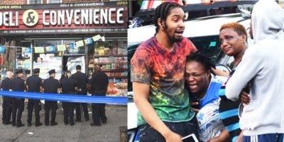 Khadeem Anderson, de 28 años, estaba dentro de la tienda Deli & Convenience en la avenida Utica, cuando entabló una discusión con un desconocido en su interior.