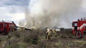l incidente ocurrió en las inmediaciones del aeropuerto de la ciudad de Durango, capital del estado del mismo nombre y a más de 900 kilómetros al noroeste de la capital mexicana.