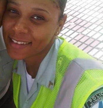 La sargento de tránsito Anny Montero Montero se suicidó en un baño de la embajada de EEUU en Santo Domingo. Foto: Fuente externa.