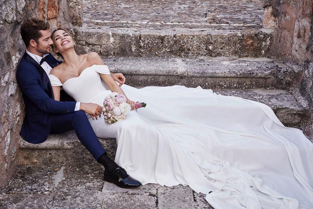 David Bisbal se casó con la venezolana Rosana Zanetti