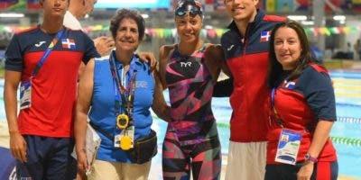 Krystal lara ganó bronce en los 100 metros dorso.